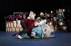 Babarman, Mon cirque pour un royaume, Zerep / Sophie Perez & Xavier Boussiron