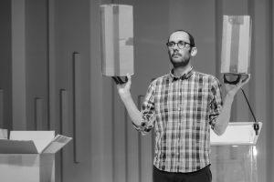 Antoine Defoort «En fait, je suis futurologue. Ça sonne vraiment mieux qu'intermittent du spectacle»