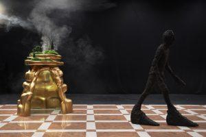 Yvan Clédat & Coco Petitpierre «Disparaître à l'intérieur de nos sculptures»